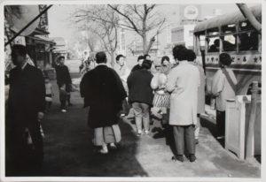 店主催 バスツアーの様子(昭和40年前後)
